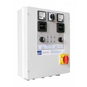 Coffret électrique 2 pompes 2EP 2,2 T UA (3+3 HP)